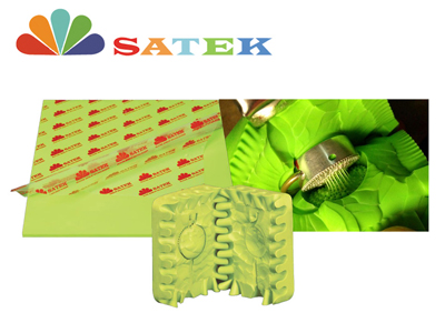 Fluorescent Green Jewelry Molding Rubber