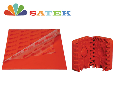 Red Jewelry Molding Rubber